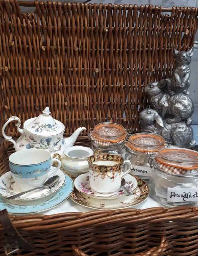 Tea and Vintage Cups
